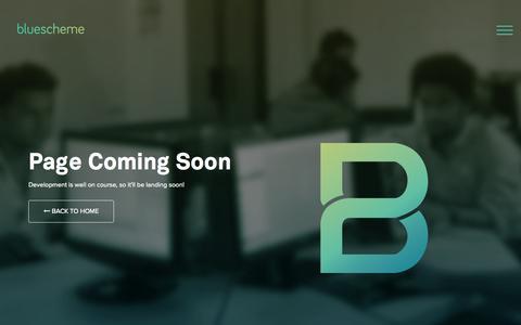 Screenshot of Services Page bscheme.com - Bluescheme | Ventures. Digital. Cloud. - captured Nov. 3, 2014