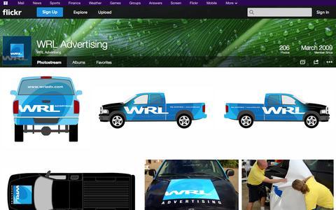 Screenshot of Flickr Page flickr.com - Flickr: WRL Advertising's Photostream - captured Oct. 22, 2014
