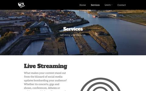 Screenshot of Services Page innerear.co.uk - Services - Inner Ear - captured Nov. 26, 2016