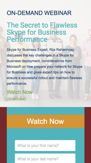 The Secret to Flawless Skype for Business Performance | Exinda