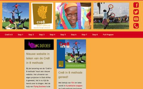 Screenshot of Press Page cre8eastafrica.org - News – Cre8EastAfrica - captured July 16, 2016