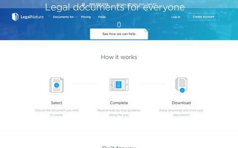 Legal Forms | Legal Documents | Legal Contracts - LegalNature