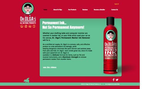 Screenshot of Home Page drolgas.com - drolgas - captured Oct. 5, 2014