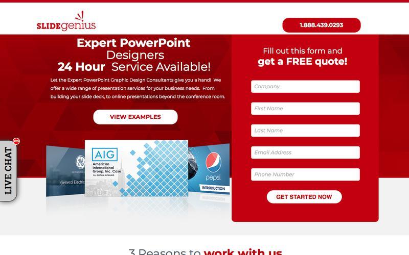 SlideGenius: PowerPoint Designers - Presentation & Pitch Deck Design Services