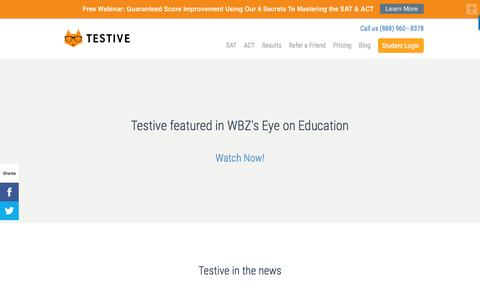 Press: Testive in the News | Testive