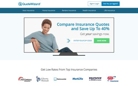 Get Free Insurance Quotes | QuoteWizard