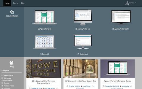 Screenshot of Developers Page agencyport.com - Agencyport Developer Zone   Resources for those implementing Agencyport software - captured Nov. 2, 2014