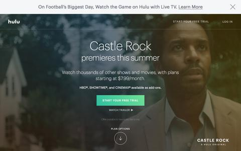 Stream TV and Movies Live and Online | Hulu