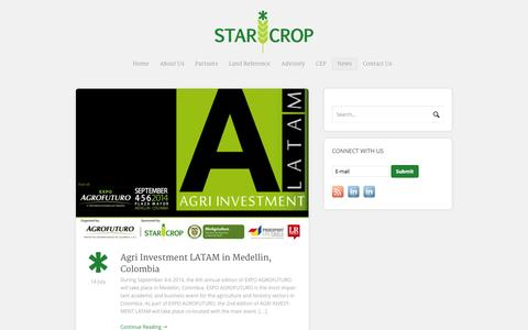 Screenshot of Press Page starcrop.co.uk - News   Starcrop - captured Oct. 7, 2014