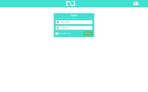 Screenshot of Login Page nuage.ai - Login | NuAge - Facebook Auto Post Multi Pages/Groups/Profiles - captured May 7, 2017