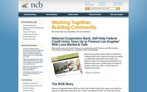 NCB :: Welcome