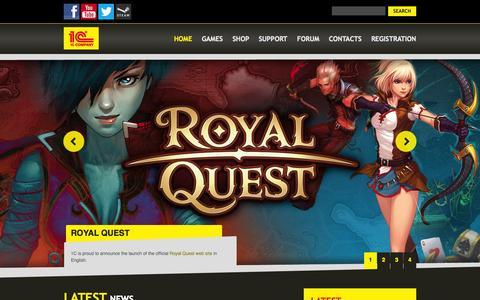 Screenshot of Home Page 1cpublishing.eu - 1C Publishing EU - captured Sept. 25, 2014