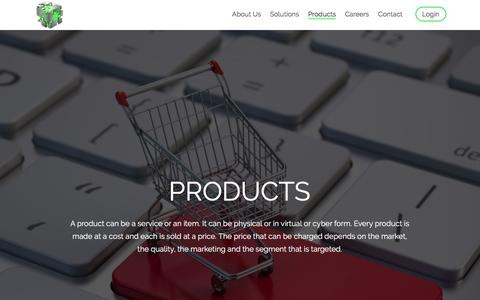 Screenshot of Products Page hunch.com.pk - HUNCH Automation - captured Oct. 16, 2016