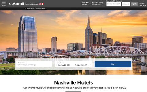 Top Hotels in Nashville | Marriott Nashville Hotels