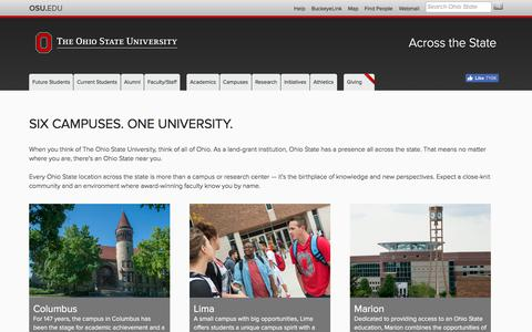 Across the State | The Ohio State University