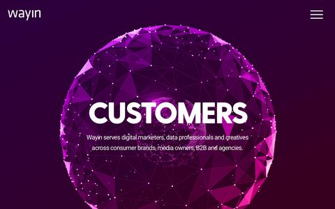 Wayin | Building Interactive Campaign Experiences For The World's Biggest Brands
