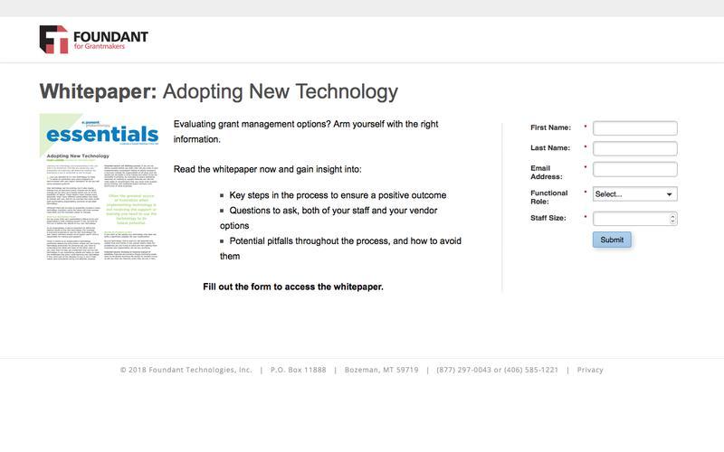 Whitepaper: Adopting New Technology