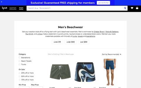 Swimwear | Men's Swimming Trunks & Boardshorts | Lyst
