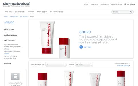 Products for Shaving, Unisex Shave Products, Men's Shaving | Dermalogica®