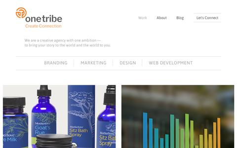One Tribe Creative - Fort Collins Colorado Agency: Branding, Marketing, Design and Web Development