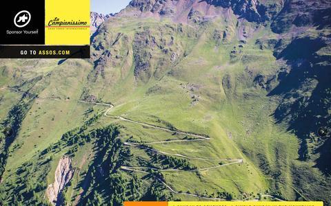Screenshot of Home Page assos.com - ASSOS of Switzerland - Cycling Body R&D - captured Aug. 8, 2015