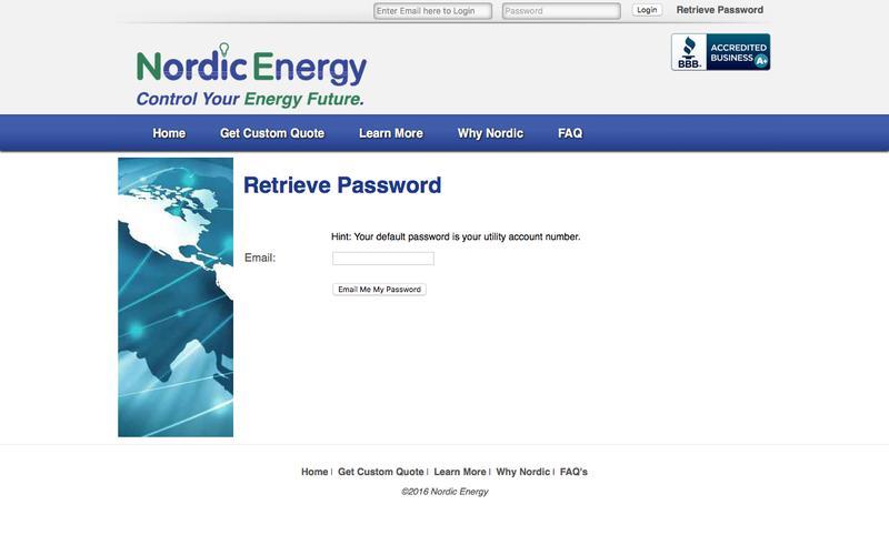 Nordic Energy - Residential
