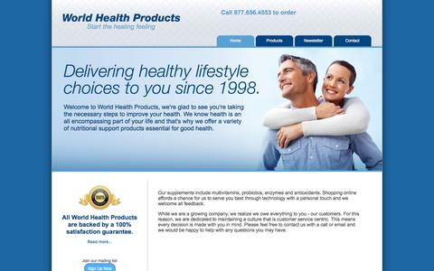 Screenshot of Privacy Page Products Page detoxamin.com - World Health Products - Start the healing feeling - captured Oct. 23, 2014