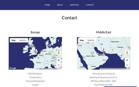 Screenshot of Contact Page mandusc.com - Contact » MUSC - captured Oct. 17, 2018