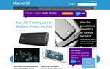 Old Screenshot Macworld Home Page