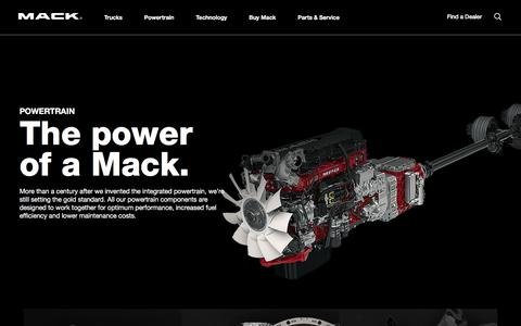 Power Trains and Suspensions | Mack Trucks