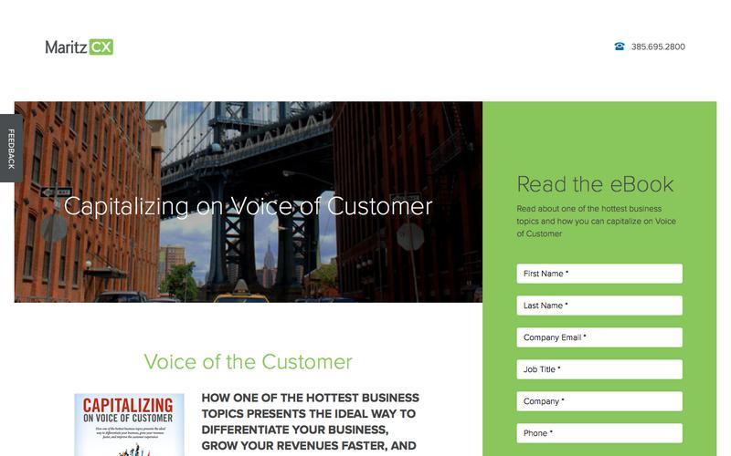 Capitalizing on Voice of Customer | MaritzCX
