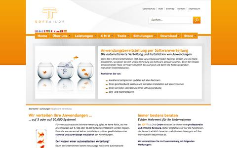 Screenshot of Team Page softtailor.de - Software Verteilung - SOFTTAILOR | 2014 - captured Oct. 3, 2014
