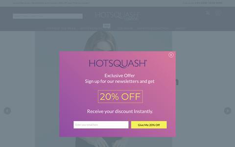 Screenshot of Home Page hotsquash.com - Home page - captured Sept. 29, 2018