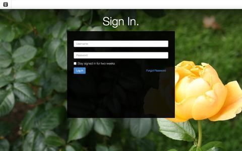 Screenshot of Login Page drgok.com - Delaware Resource Group :: Login - captured Feb. 24, 2016