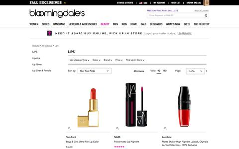 Lip Makeup: Lipstick, Gloss, Liner, Balm & More - Bloomingdale's