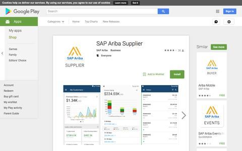 SAP Ariba Supplier - Android Apps on Google Play