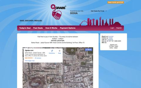 Screenshot of Maps & Directions Page qgrabs.com - Office Map - captured May 15, 2017