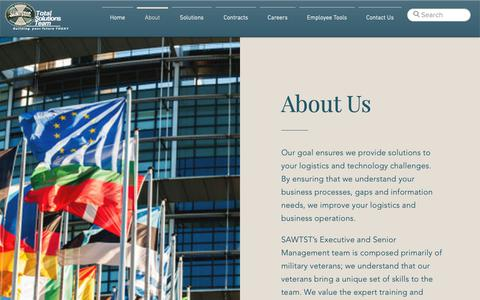 Screenshot of About Page sawtst.com - About  | SAWTST, LLC - captured March 21, 2019