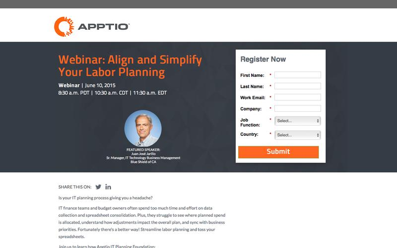 Webinar: Align and Simplify Your Labor Investments