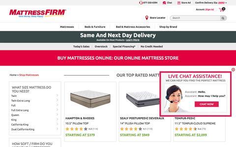 Mattresses & Beds: Shop Top Brands