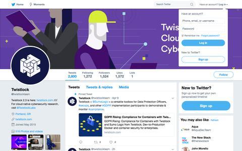 Twistlock (@twistlockteam) | Twitter