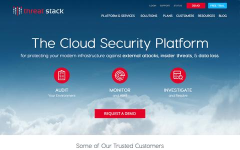 Cloud Security Monitoring, Cloud Protection - Threat Stack