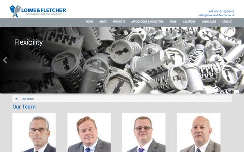 Screenshot of Team Page lowe-and-fletcher.co.uk - Contacts | Lowe & Fletcher - captured July 17, 2016