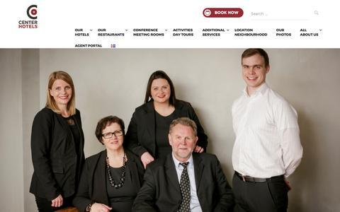 Screenshot of Team Page centerhotels.com - CenterHotels Reykjavik - Management Team – CenterHotels - captured May 15, 2017