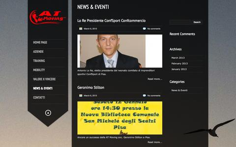 Screenshot of Press Page atmoving.com - ATMOVING |   News & Eventi - captured Oct. 4, 2014