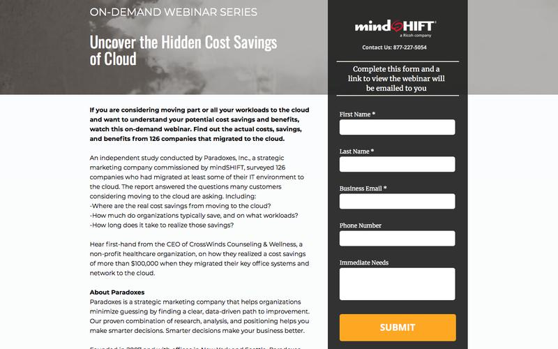 Uncover the Hidden Cost Savings of Cloud