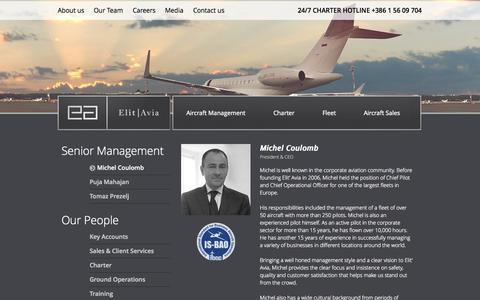 Screenshot of Team Page elitavia.com - Our Team | Elit'Avia - captured Sept. 29, 2014