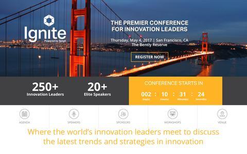 Ignite 2017, The Premier Innovation Conference - Spigit