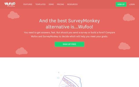 Wufoo and SurveyMonkey - Wufoo : Wufoo