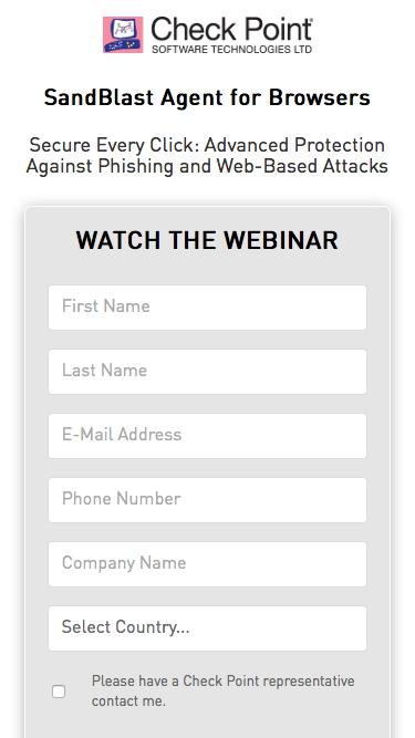 SandBlast Agent for Browsers: Secure Every Click